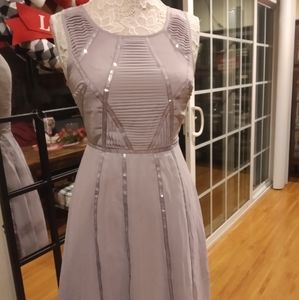 COPY - ModCloth/Geode Lavender Sequins Dress